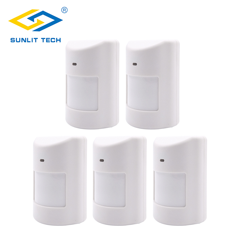 5pcs/Lot Wireless Pet Immune Pir Motio Sensor For 433Mhz Infrared Motion Detector for Home Security Alarm System alarma sensor цена