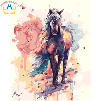 Digital Diy Oil Painting By Numbers Figure Wall Decor Picture On Canvas Oil Paint Coloring By