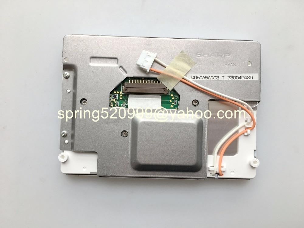Brand new 5 0Inch LCD display LQ050A5AG03 LQ5AW136 screen for 2009 Touuareg Benley Mercedes Poschi car