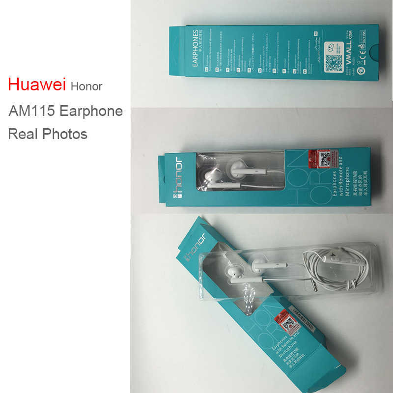 Huawei nowy Honor słuchawka douszna AM115 z Bluetooth bezprzewodowy Adapter konsola przewodowa słuchawki dla Huawei Mate P10 P9 P8 Xiaomi