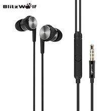 Blitzwolf BW-VOX1 Гибридный драйверы двойной драйверы наушников звук музыки наушники С микрофоном для smausng для Xiaomi смартфонов