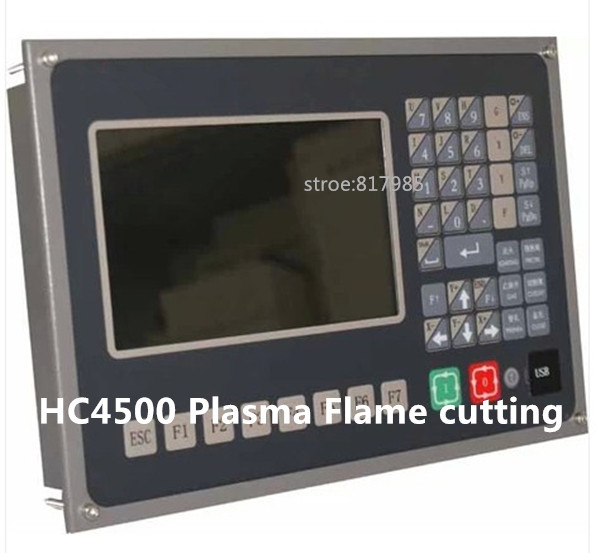 Free shipping High quality HC6500 Popular Gantry type CNC Flame/Plasma Controller System /CNC plasma cutting controler