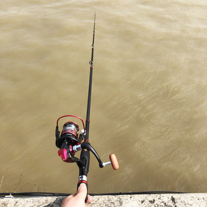 Image 5 - portable retractable spinning fishing rod short ultralight travel bait casting lure rod boat rock sea stick pesca pole 1.8 2.7m