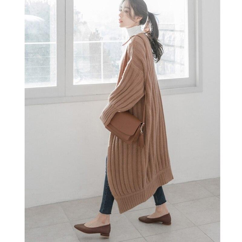 Cardigans manteaux à longues 13
