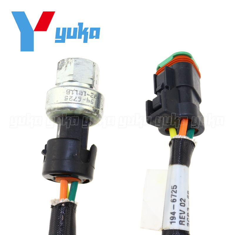 Heavy Duty Oil Fuel Pressure Sensor Switch Sender For Caterpillar