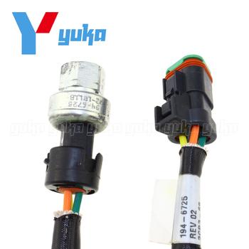Nowy dla kota-Caterpillar ciśnienia powietrza czujnik silnika C7 C13 C15 C16 194-6725 2CP3-68 1946725 tanie i dobre opinie Zbiorniki paliwa 18 9*2 3*2 3 Metal IVOK For CATERPILLAR Heavy Duty Pressure Sensor MEXICO 3-pins 194-6725 1946725 2CP3-68