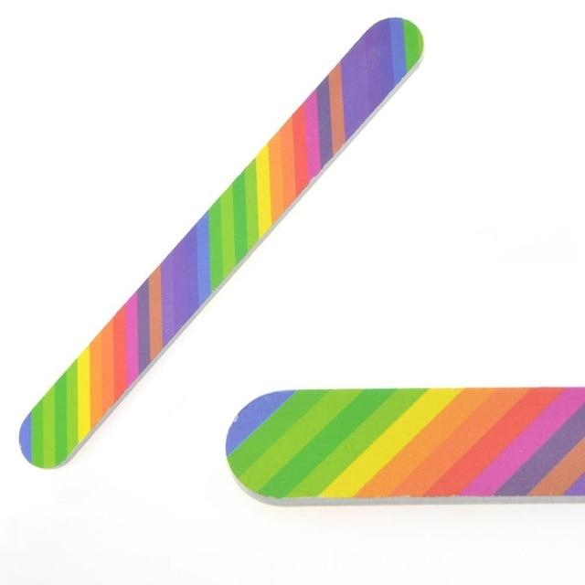 Elite99 6 teile/satz Nagel Dateien Pinsel Durable Polieren Grit Sand Fing Nail art Werkzeug Zubehör Schleif Datei UV Gel Polnisch werkzeuge