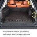 Lsrtw2017 роскошный волоконный кожаный коврик для багажника автомобиля range rover Vogue 2012 2013 2014 2015 2016 2017 2018 2019