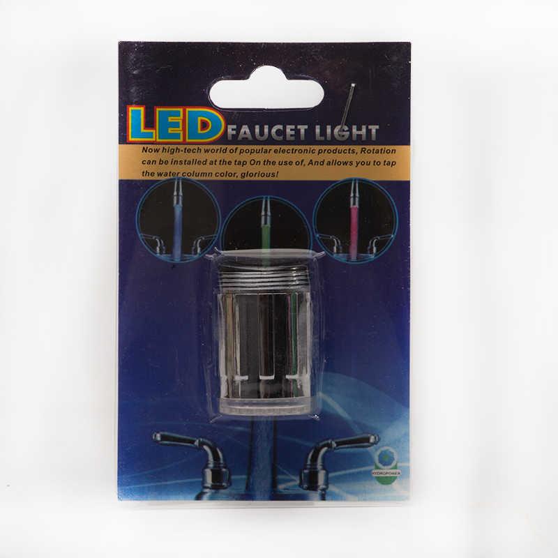 ZhangJi 節水キッチン LED 蛇口エアレーター高品質浴室 3 色エアレーターシャワーヘッドシンク蛇口キッチンタップライト
