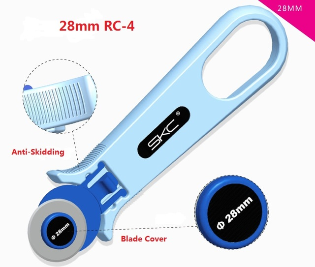 28mm/45mm Rotary Cutter Circular Roller Cut Blade Patchwork Leather and Fabric Craft...