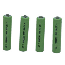 12X AAA 1600mAh OOLAPR 1.2 V Rechargeable Battery  NI-MH 1.2V 3A Free Shipping