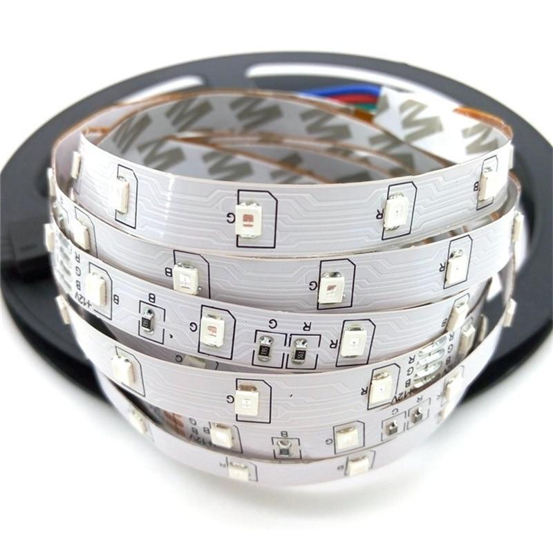 10M LED csíkkészlet SMD 3528 RGB 24Ke-es IR vezérlővel, 12V DC - LED Világítás - Fénykép 2