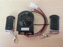 STARPAD For Electric motor vehicle anti theft alarm horn 48V 64V dual remote keyless remote locking