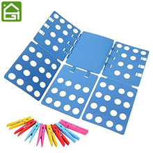 Extra Large Extra Thickness Adjustable Clothes Folder with Towel Clips Adult Dress Pants T-shirt Laundry Folding Board