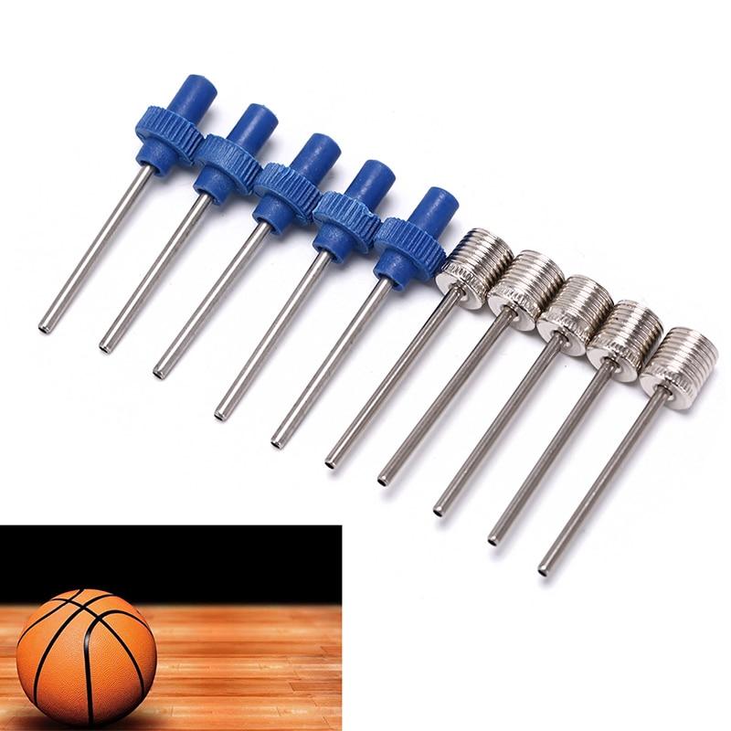 6x Ballon Pompe Aiguille Football Basket aiguilles valve aiguille pompe à air valve