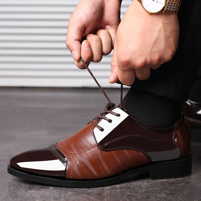 Luxury Business Oxford Leather Shoes 16