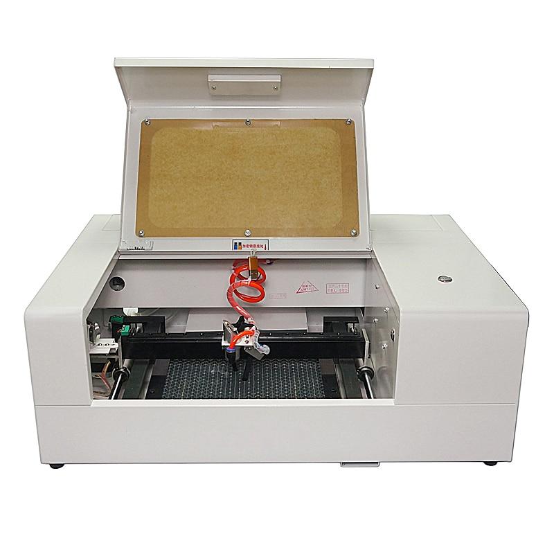 LY CO2 machine de découpe Laser 6040 60 W version à vitesse moyenne 400 MM/S conception de rail carré latéral gravure laser