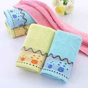 Image 2 - Serviette en coton de haute qualité, épaississement des nécessités quotidiennes, serviette de visage, cadeaux promotionnels, serviettes cadeaux, logo sur mesure en gros