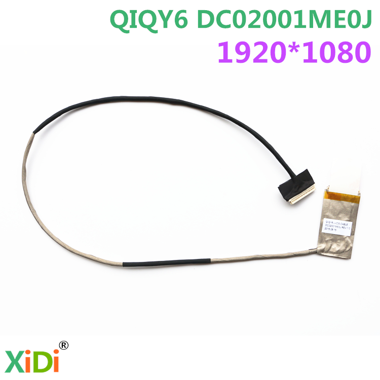 все цены на NEW FOR LENOVO Ideapad Y500 FHD LCD LVDS CABLE QIQY6 DC02001ME0J LVDS CABLE