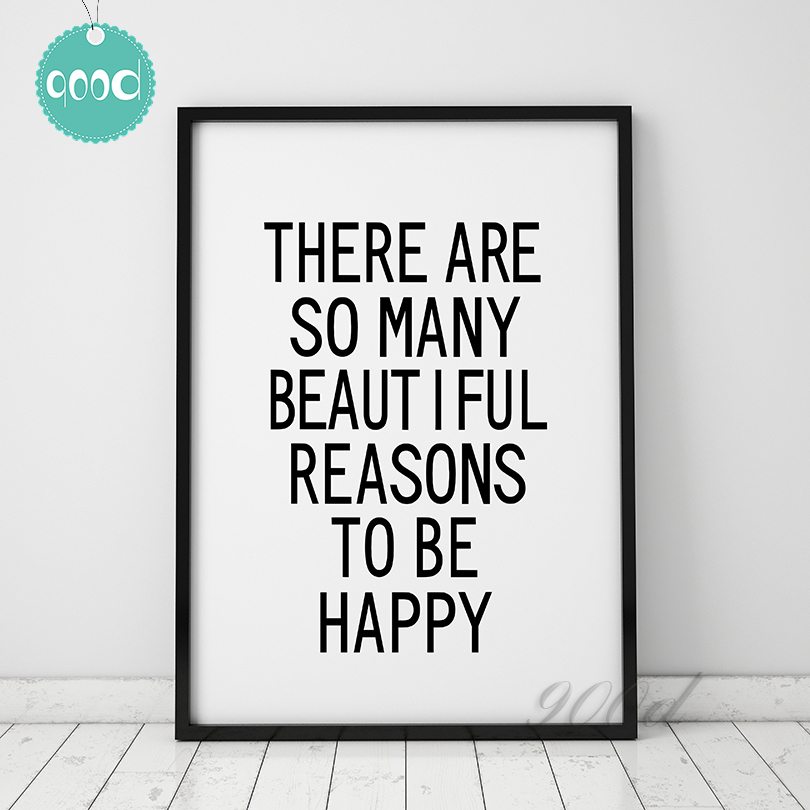 Sayings Wall Art Canvas : Aliexpress buy inspiration quote canvas art print