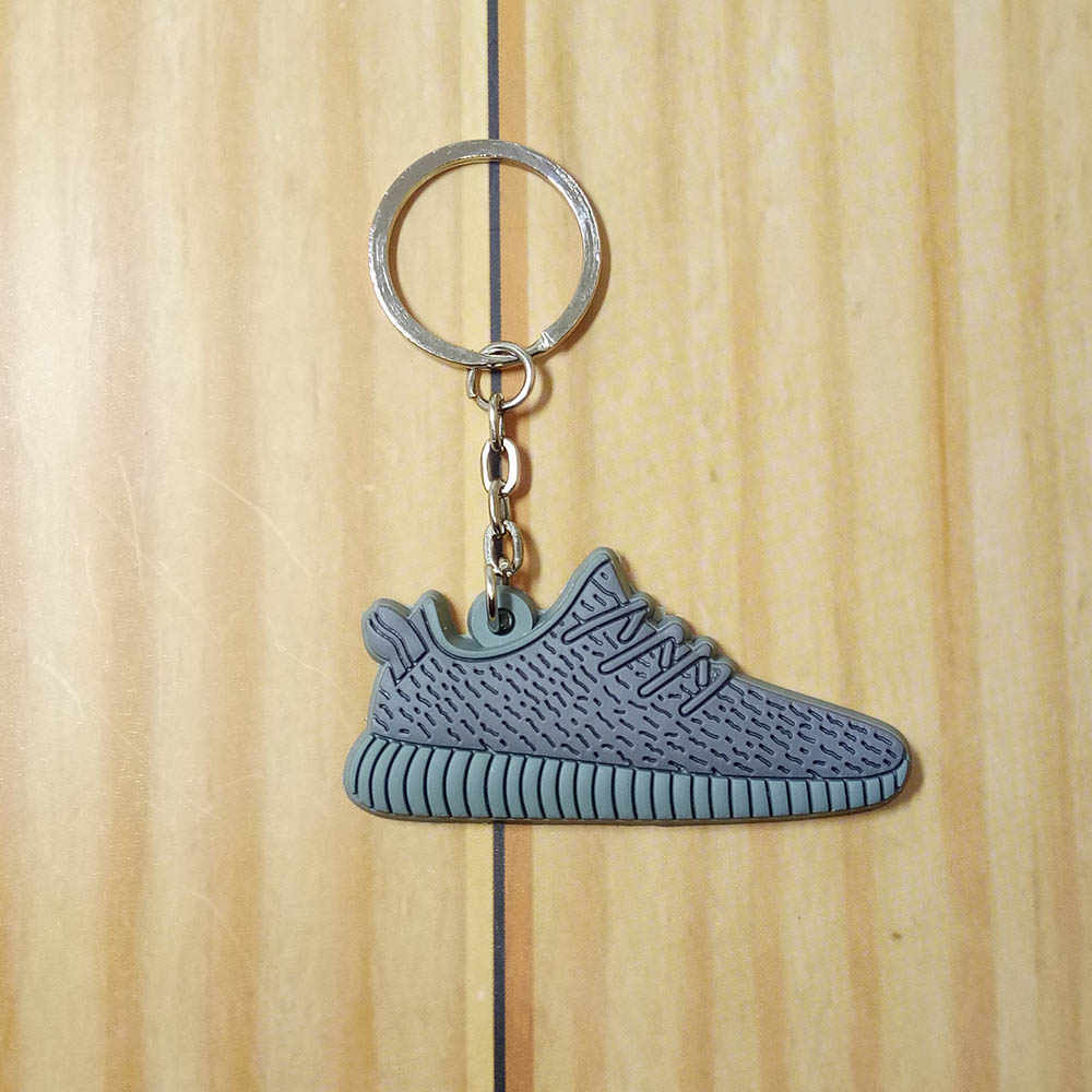 Mini Silicone 350 Saco Keychain Charme Homens Mulher Kids Presentes Chave Anel Titular Chave Sneaker Jordan Sapatos Corrente Chave
