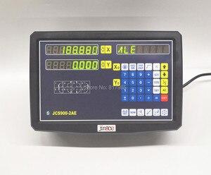 Image 2 - 2 achsen digital anzeige dro mit hoher präzision Sino lineare skala/dünne lineare encoder/linearen lineal für fräsen drehmaschine maschine