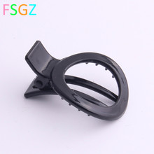 6 PIECES/LOT Good Quality fashion Plastic hair claws mini clamps for girls clips with tins Environmental Material ABS