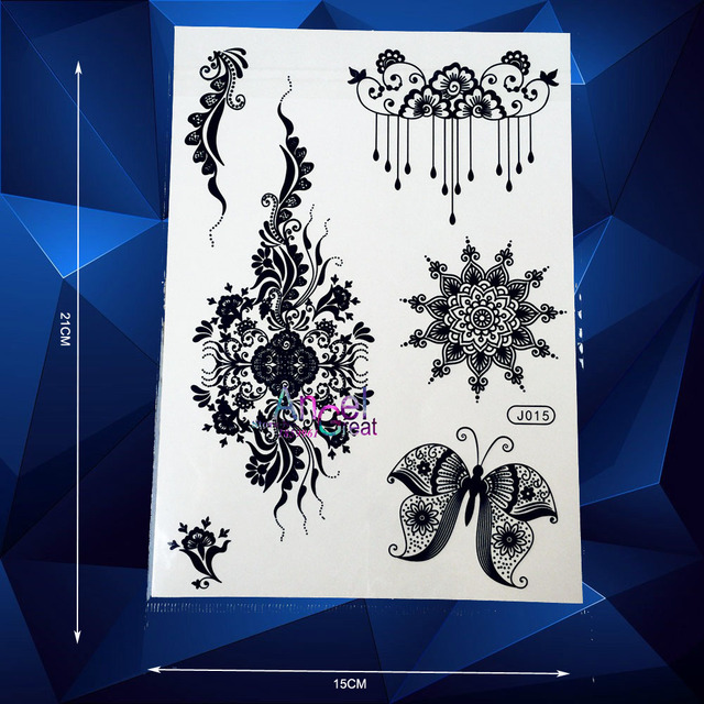 Pendants Designs Henna Temporary Tattoo Body Art Makeup Tattoo