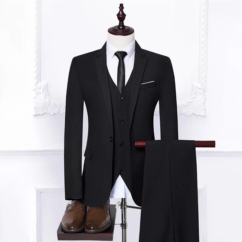De Pantalon Fit Hommes Marié Costumes Slim 2 5xl Taille bleu rouge Plus Noir Chemise gris Loisirs Smoking Mariage veste Gilet Pcs D'affaires BqgYxa