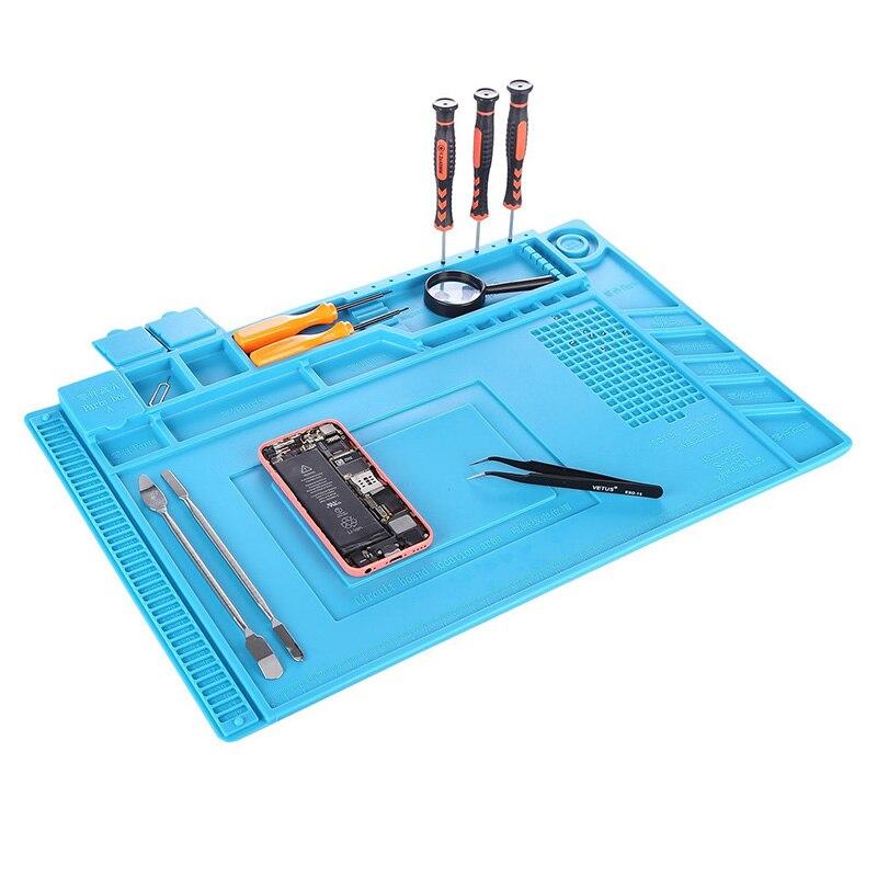 Magnetinio silikono padėklo litavimo platformos stalo mobiliųjų - Įrankių komplektai - Nuotrauka 5