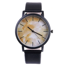 Malloom Fashion ladies watch Marble leather Band women watches Luxury top brand wristwatches Zegarek damski Drop shipping #YH13