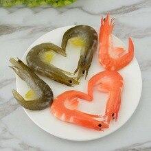 050 Simulation shrimp model lobster simulation food hotel furnishings  fake 8*4.5*1.5cm