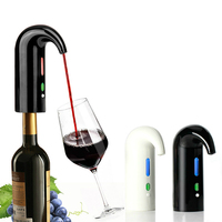 Smart Electric Wine Decanter Aerator Dispenser Portable LCD Display Wine Adding Oxygen Oxidation Pourer Tools Wine Accessories
