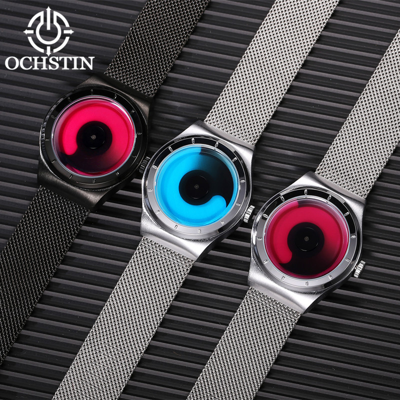 Nieuwe mode top luxe merk OCHSTIN horloges mannen quartz-horloge - Herenhorloges - Foto 6