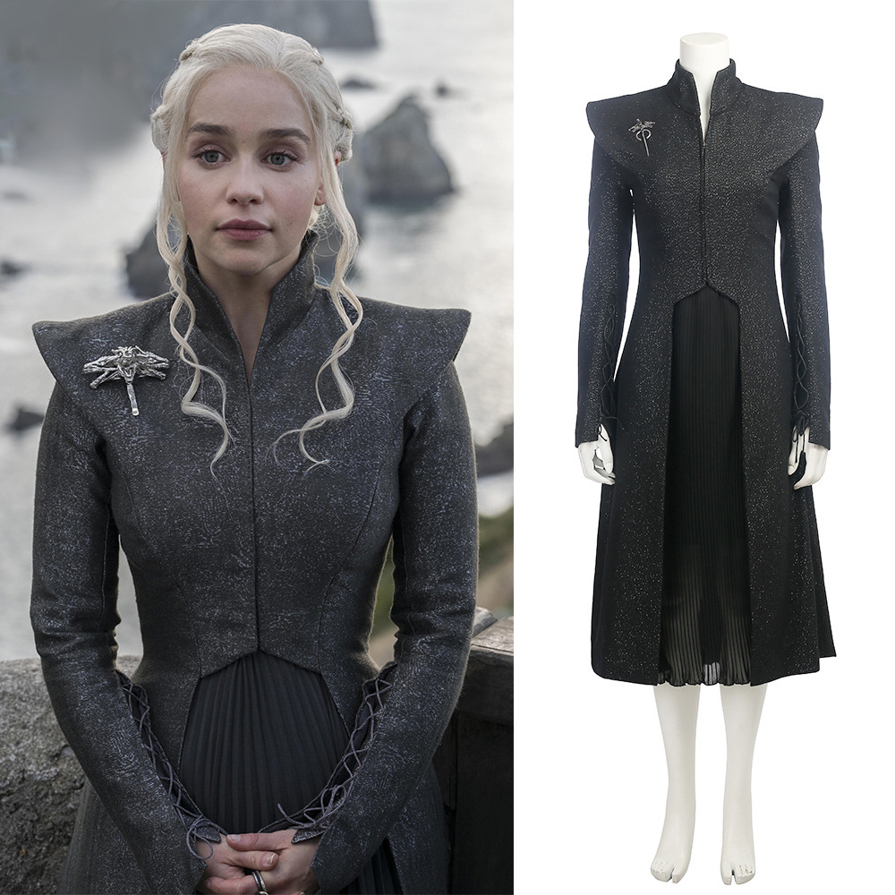 Game of Thrones saison 7 Daenerys adulte femmes filles Cosplay Costume vêtements noël carnaval Halloween mascarade déguisements