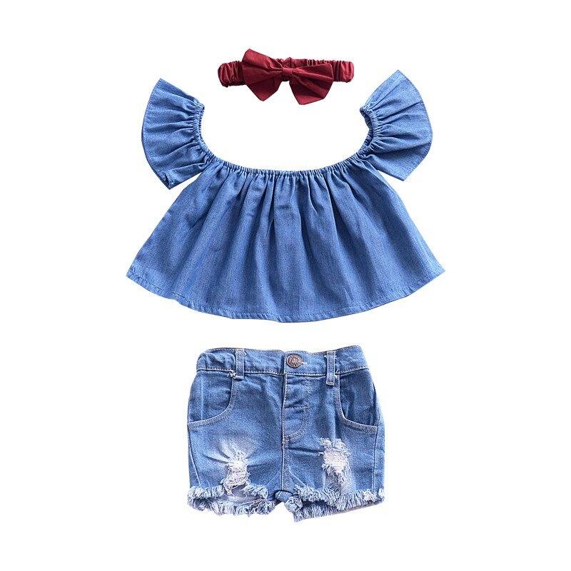 100% QualitäT 2019 Sommer Kleinkind Kleidung Tops Für Baby Mädchen Kleidung Süße Baby Mädchen Rüsche Hülse Bluse Kinder Shirts Neue 0- 4 T