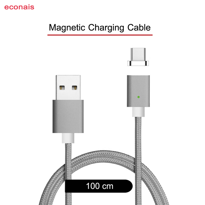 Fast Charging USB C Magnet Charger For Samsung Galaxy Fold Redmi Note 7 Huawei Mate X LG V50 G8s ThinQ Moto G7 Play Magnet Cable