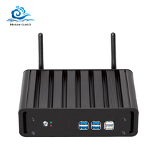Lzż i7 mini PC rdzeń i7 7500U 6500U 5500U 4 K HD z systemem Windows 10 Celeron 2955U HDMI USB TV Box z WiFi minikomputer platforma PC