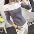 Malha t shirt mulheres t-shirt de algodão top poleras de mujer mulher camiseta de manga longa camiseta femme sexy camisetas femininas 2016