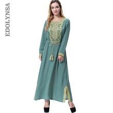 Arabic Abaya Robe Patchwork Muslim Abaya Dress With Sashes Plus Size Dubai  Abaya Soft Kaftan Maxi b3d1a0bf4190