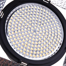 YONGNUO YN216 3200K-5500K LED Video Light with 4 Color Plates