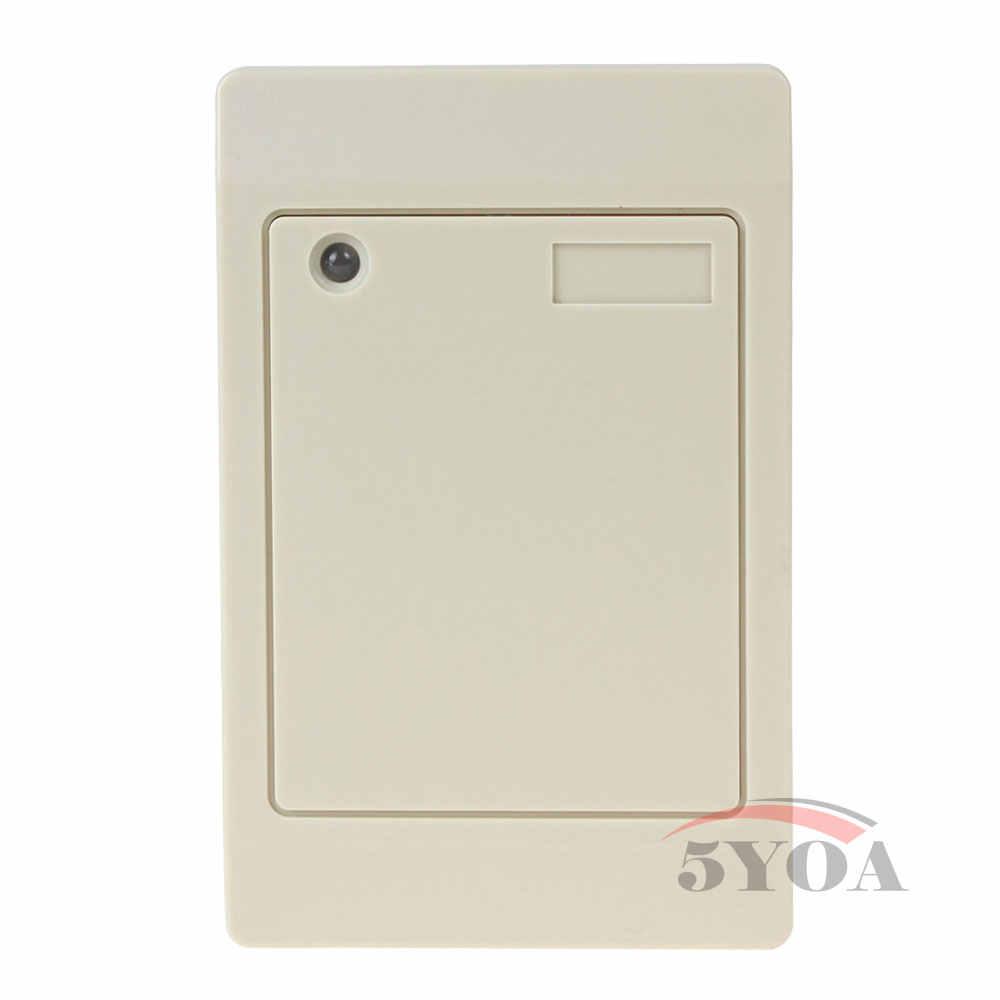 125 KHz RFID החכם ללא מגע קורא כרטיס בקרת גישה עמיד למים IP65 EM מזהה קרבה Weigand