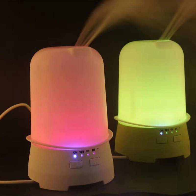 Household Aromatherapy Humidifier Creative Hat Shape Colorful LED Mood Light Aroma Diffuser 120ml Ultrasonic Air Mist Humidifier