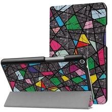 Cubierta del caso del soporte para 2017 Huawei MediaPad T3 8.0 KOB-L09 KOB-W09 cubierta protectora de la piel para Honor Juego Pad 2 8.0 tablet + regalo