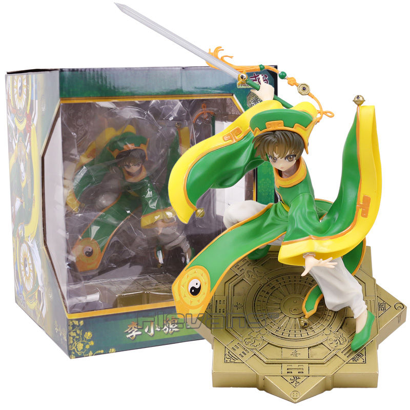 Card Captor Sakura Li Syaoran 1/7 Scale PVC Figure Collectible Model Toy 28cm card captor kinomoto sakura 1 7 scale painted figure 15th anniversary sakura doll pvc action figure collectible toy 26cm kt3366