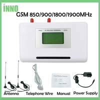 Fixed Wireless Terminal GSM 850 900 1900MHz GSM Dialer 2 SIMs Dual Standby Support Alarm System