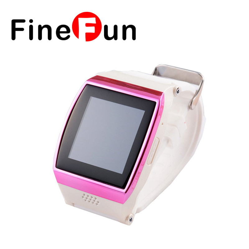 ФОТО FineFun Smart Watch L15 Bluetooth Smart Wrist Hi Watch Phone with GSM SIM Card Camera Anti-Lost Message Sync Wechat Facebook
