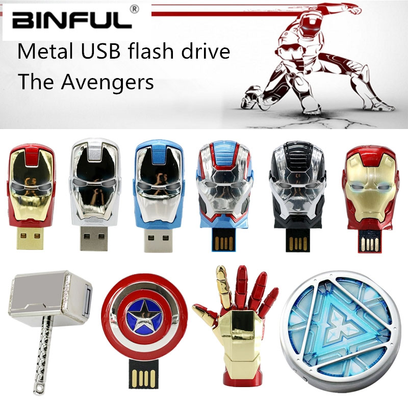 Avengers Iron Man Hulk Usb Flash Drive 64gb 128gb Usb 2.0 Pen Drive 4gb 8gb 16gb 32gb Pendrive High Quality Flash Disk Best GiftAvengers Iron Man Hulk Usb Flash Drive 64gb 128gb Usb 2.0 Pen Drive 4gb 8gb 16gb 32gb Pendrive High Quality Flash Disk Best Gift