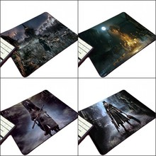 Congsipad High Quality Creative Diy Bloodborne Horror Game Customized Design Pc Mousepad Tablet Gamer Player Mouse