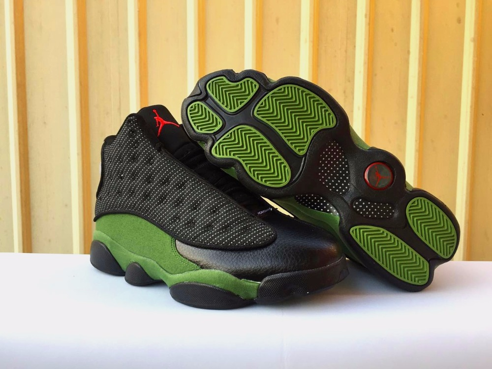 26b93a1c701781 Jordan 13 XIII Men Basketball Shoes Bred Love Respect White Olive Altitude  Chicago He got game Athletic Outdoor Sport Sneakers..-in Basketball Shoes  from ...